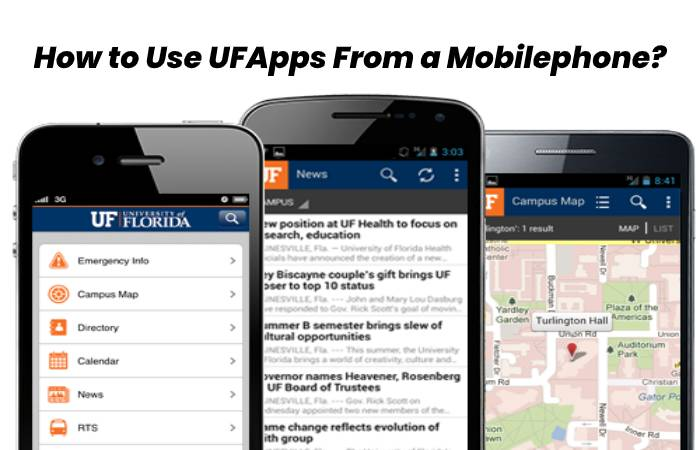 How to Use UFApps From a Mobilephone_