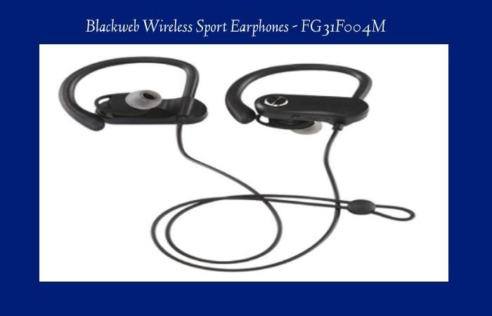 Blackweb Wireless Sport Earphones - FG31F004M