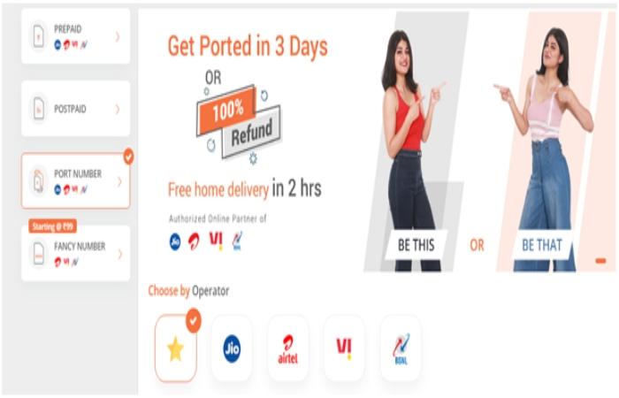 Steps to Port number Online